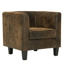 8002 Office Guest/Reception Hotel Lobby Classic Wooden Frame Leather fabric Arm Chair Living Room <strong>Furniture</strong>