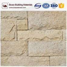 Buck conty stacked stone artificial cultured stone with corner and flat