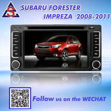 Double din car dvd gps for SUBARU FORESTER