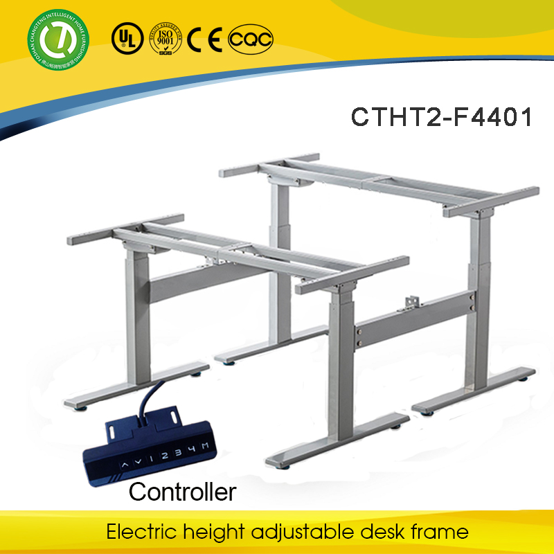 GOOD for prevention of Spinal Disease Intelligent adjustable height metal tabel legs for sale