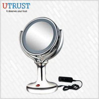 New lights around electric portable makeup Magnifying Led Mirror