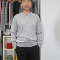 100 Cashmere Crew Neck Knit Sweater