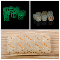 The new 16MM fillet luminous with gold dice/Night bar KTV essential/16 fine luminous dice