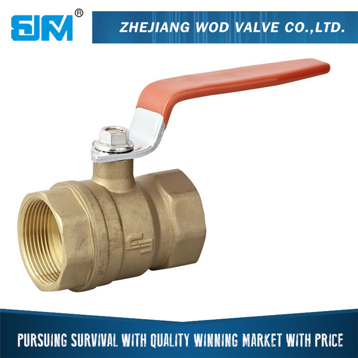 Hot selling NPT BSPT threaded brass ball valve importer in delhi