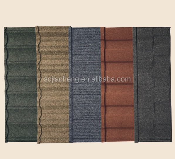 Roman Building Material Prices China / High Quality Stone Coated Steel Roofing Tile / Roman Sand Stone Coated Metal Roof Tiles