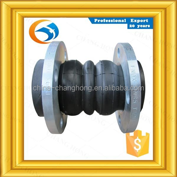 3% order discount PN10 double sphere rubber expansion joints with flange