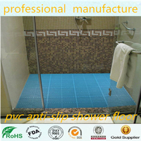 Anti-Slip bathroom pvc tile flooring