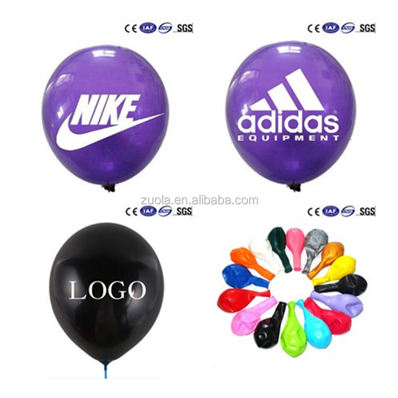 Custom advertising latex balloons with your Brand Designs&Logos