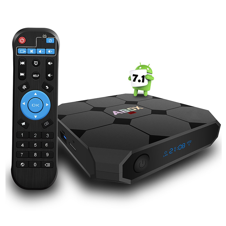 Best price Tv box manufacturer A95X R2 atv android 7.1 tv box amlogic s905w 2gb 16gb tv box