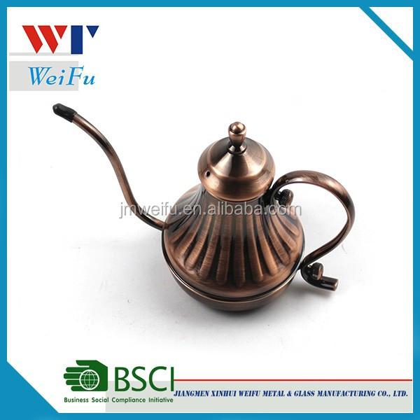 Hot sale stainless steel Pour Over Coffee Drip Kettle Gooseneck Coffee Maker Pot Brew Coffee or Tea