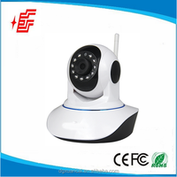 Indoor 1.0Mega HD720P CMOS Motion Detection alarming wireless ip camera
