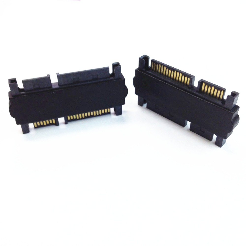 SATA 7+15P Male to Male Adpter 22P