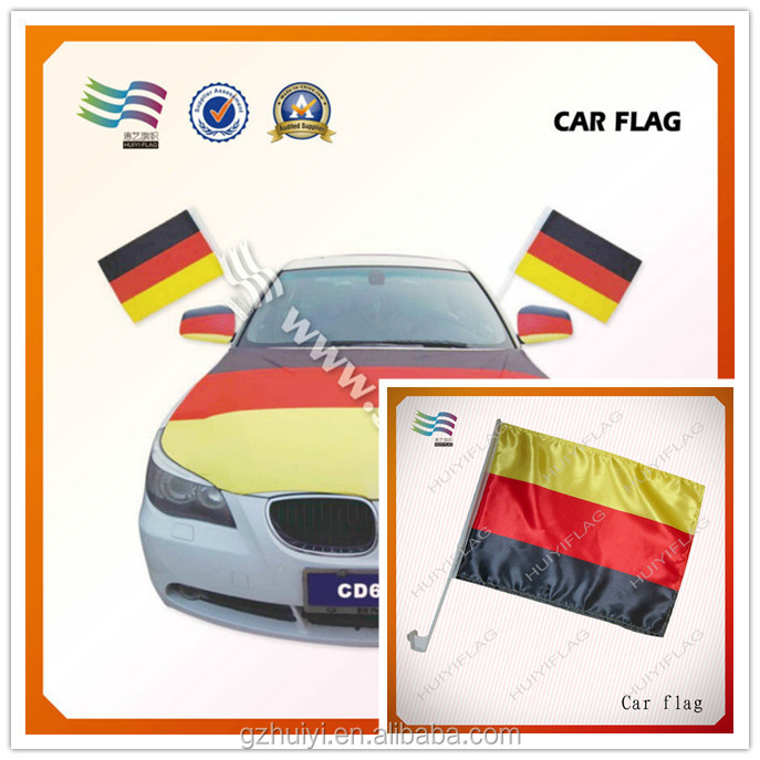 Polyester Hanging Germany Car Window Flag