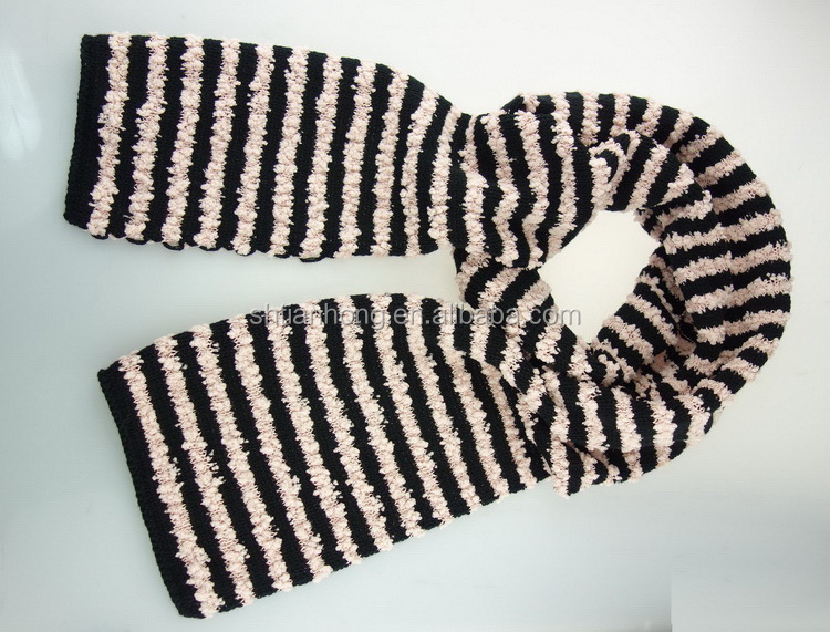 Custom made reasonable price single layer knitted scarf