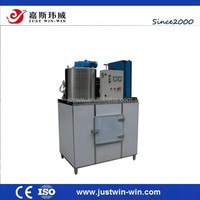 CE approved flake ice machine/ salt water ice maker/ ice flaker