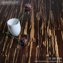2016 nicey floating pattern tiger indoor bamboo flooring used in project