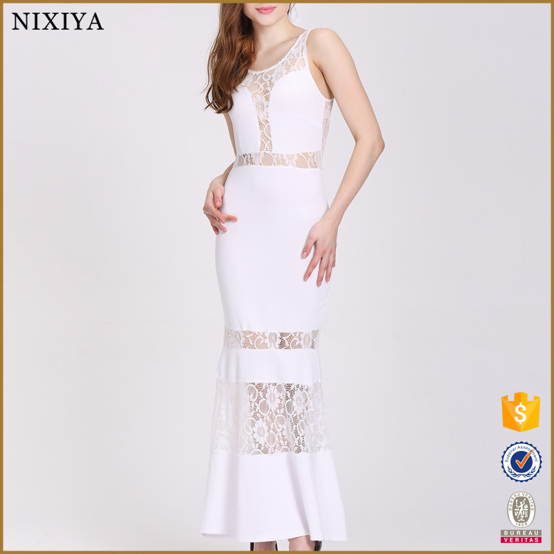 Guangzhou factory ladies fashion dresses party long wedding lace sexy dresses