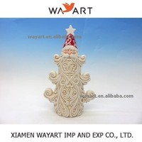 2015 Wholesale Best selling products of christmas porcelain ceramic santa claus santa head