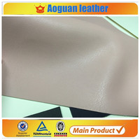 2016 super soft imitation sheep leather skin PU leather for textiles leather products