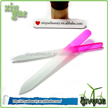Czech Glass Promotional Salon Nail File China