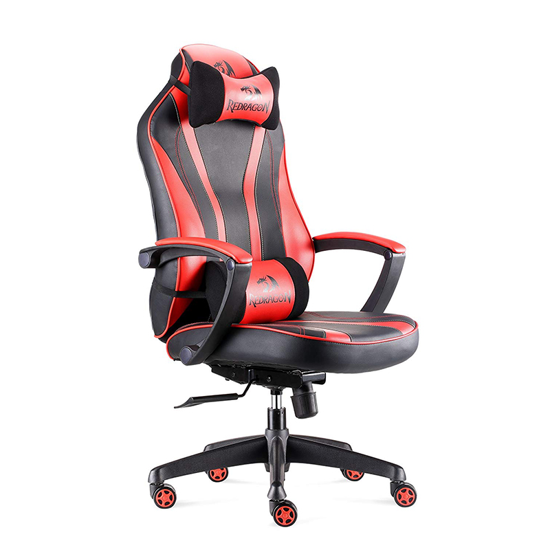 Redragon <strong>C101</strong> Gaming Chair E-Sports Ergonomic Racing Style PU Leather High-Back Office PC Computer Swivel Chair