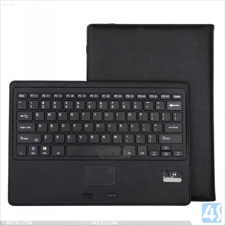 for Microsoft Surface Pro 3 Leather USB Keyboard Case with Holder/Stand for 12 inch Tablet PC