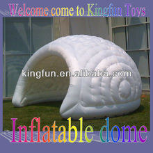 Protable inflatable party dome shelter outdoor