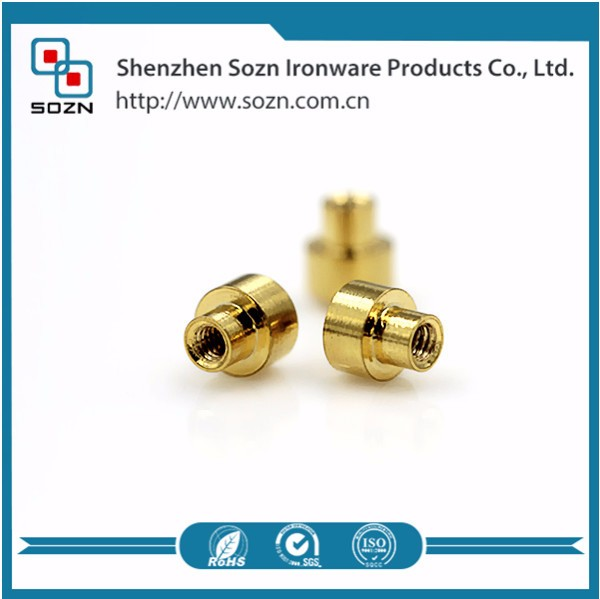 M2 brass mold threaded inserts for plastic