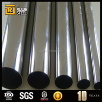 stainless tube ,stainless steel weld pipe/tube fitting for Stair handrail