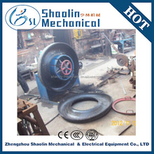High efficiency waste tire cutting machine with high quality