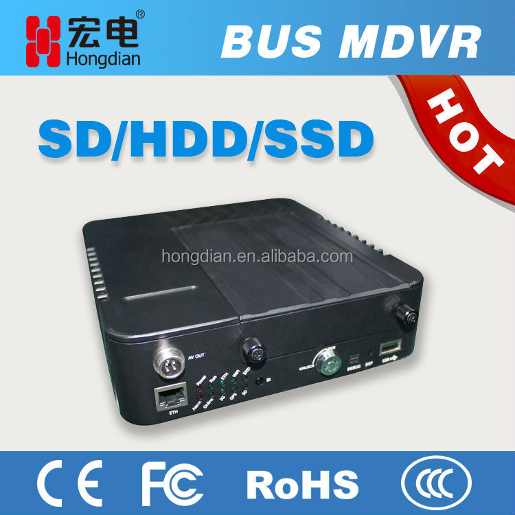 3G 8CH HDD MDVR with cloud management
