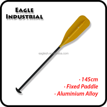 Fixed aluminum floating paddle for rafting inflatable boats