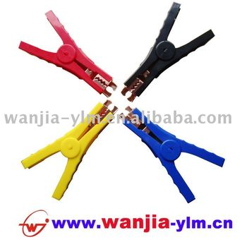 colorful booster cable PP clamp
