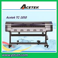 Acetek Roll To Roll Eco Solvent Printer With Maintop/Wasatch Software