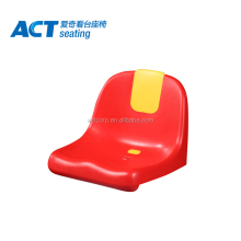 PP plastic stadium chair seat with advertising