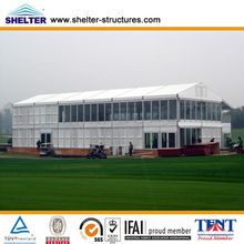 Recycle use large clear roof wedding marquees/wedding party tent for sale made in Canton Shelter