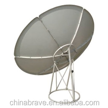 240cm Aperture 240cm satellite antenna with CE&ROHS certificarte and OEM&ODM supported