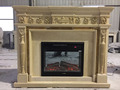 Wholesale Natural Beige Gus Marble Fireplace