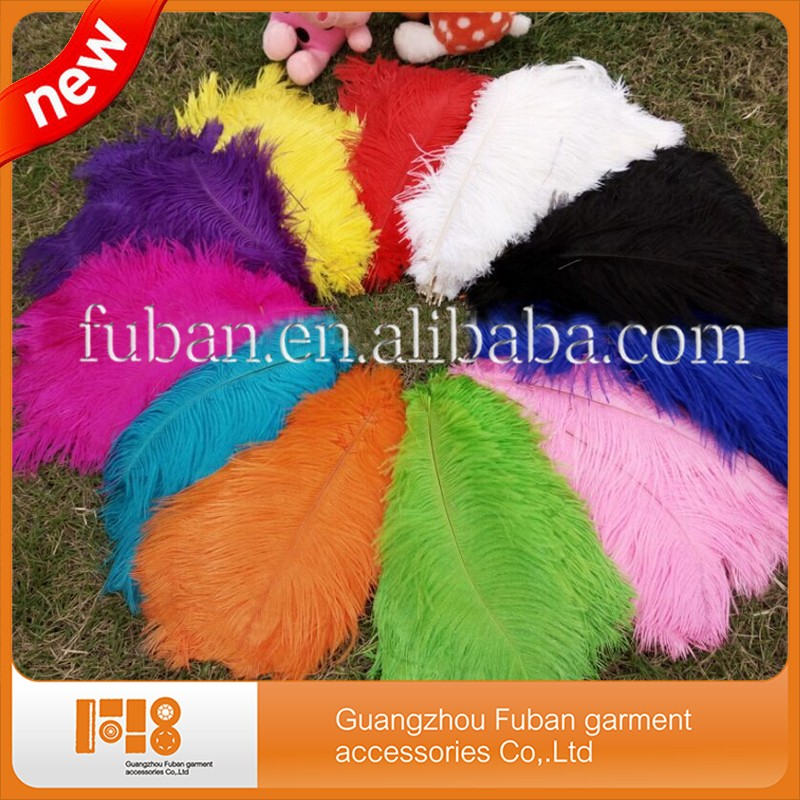 beautiful Natural Ostrich Feathers for plumes carnival ostrich feathers for wedding decoration
