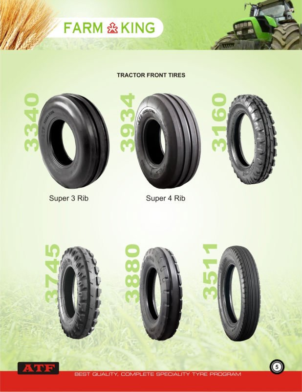 Tractor Front Tires