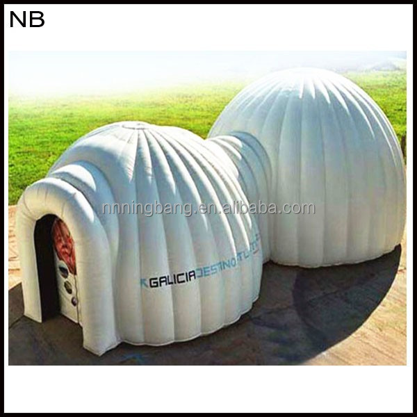 NB-TN3017 Waterproof With LED light inflatable tent for Event