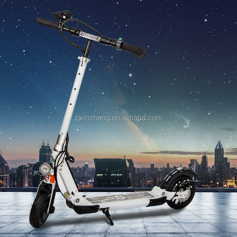 fashion electric standing scooter for city commuting/ short transportation
