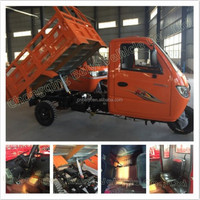 2016 250cc Chongqing Closed Container Three Wheel Motorcycle adult dumper 3 Wheel Tricycle for sale