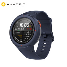 English Version Xiaomi Huami AMAZFIT Verge GPS <strong>Smart</strong> <strong>Watch</strong> IP68 AMOLED Screen Smartwatch