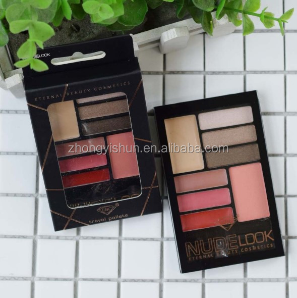 Face Makeup Tool Kit Lipstick Concealer Blush Eyeshadow in All DHL