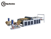 computer PE/plastic film rolls cross cutting machine roll paper sheeting machine for sale