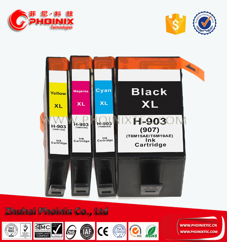 New Products Compatible for HP 903 903XL 907XL Inkjet Cartridge use in Pro 6950/6960/6970 All-in-One Printer