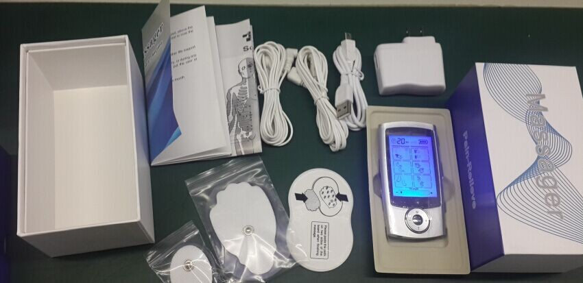 Hot Digital Therapy Machine Portable Mini TENS With 16 massage modes