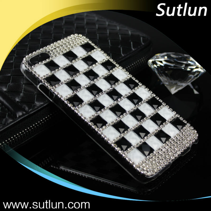 High Quality Luxury Bling Diamond Rhinestone Hard Back Cover Case For Samsung Galaxy S3 S4 S5 S6 S6 Edge