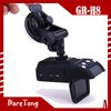 Factory Direct HD 720P GPS car black box GR-H8 anti police radar detector